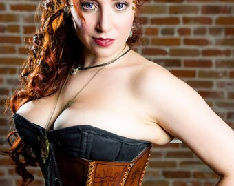 Ouija Leather Corset