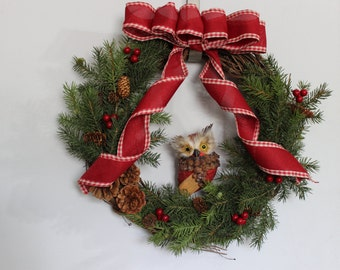 Winter/Christmas Wreath