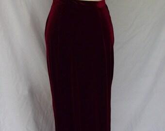 Gypsy Mama Skirt - Burgundy