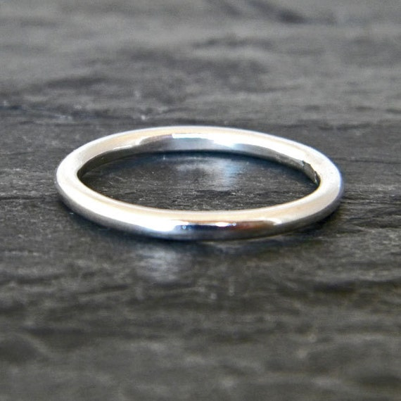 thumb ring for sterling silver stack ring silver