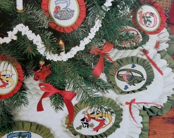 12 | Twelve DAYS OF CHRISTMAS | Counted Cross Stitch Pattern | Better Homes and Gardens | Chart