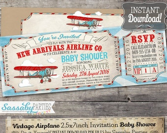 Airline ticket  Etsy