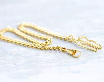 Pocket Watch Chain - Golden Toned