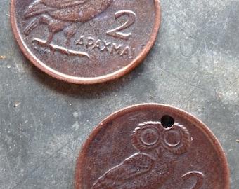 Copper Owl Coins