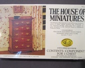Chippendale Chest on Chest House of Miniatures 40009 New sealed in original wrap