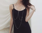 Tulip Lace Tank Top - Black/Midnight Navy or Black, tunic length   Size Extra-Small, Small, Medium, or Large