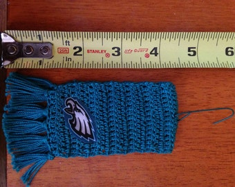 Philadelphia Eagles mini-scarf ornament