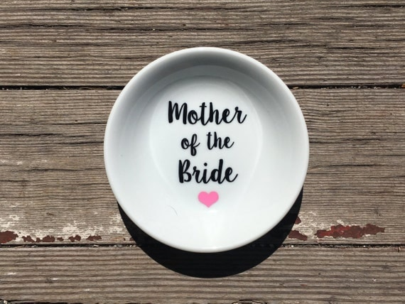 Ring Dish | Mother of the Bride | Wedding | Ring Holder |  Gift | Bridal Favor