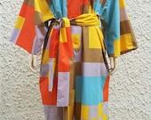Marimekko Finland Color Block Jumpsuit