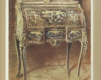 Fine Art Print of Marie Antoinettes Desk