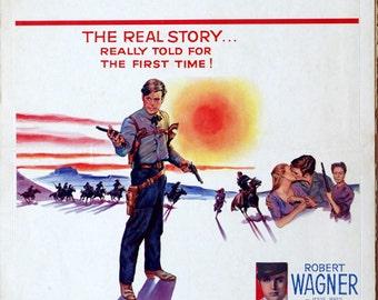 "True Story of Jesse James, The. 1957 Original 14""x22"" US Movie poster. Robert Wagner(Jesse James),Jeffery Hunter(Frank James),Frank Gorshin."