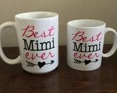Best Mimi ever  - Coffee Mug - custom text/color(s)