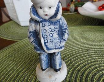 B235)  Vintage Frozen Charlotte Sailor Boy