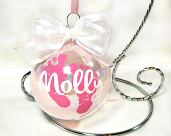 Baby's First Christmas Ornament - Personalized Ornament - Gifts for New Mom - Custom Ornament