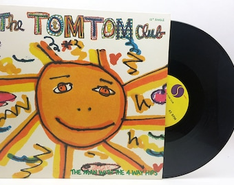 "Tom Tom Club: The Man With the 4-Way Hips Vinyl 12"" Single Rap New Wave Vinyl Record Vintage"