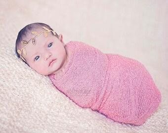 Baby Girl - Baby Headband - Baby Girl Headband - Newborn Headband -  Gold Headband - Infant Headband - Trendy Headband - Baby - Headbands