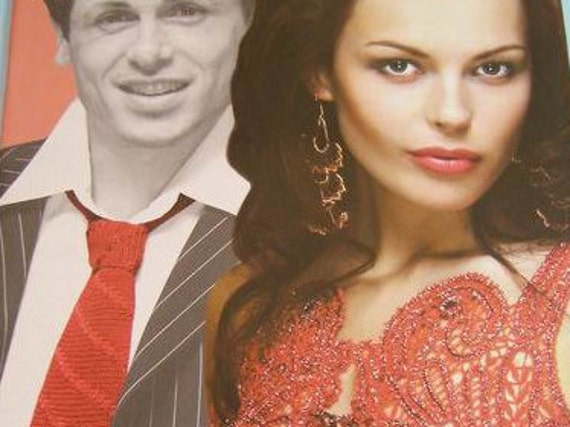 Crochet patterns magazine DUPLET 53 Wedding/coctail Irish lace dress, skirt, top