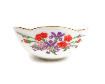 Vintage Royal Cornwall Ltd Flowers of Mount Vernon Bowl Limited Edition Made in Japan Decorative Purposes