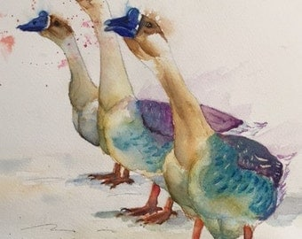 goose art, goose watercolor geese print geese painting goose watercolor goose painting goose print goose canvas kitchen art,geese goose chic