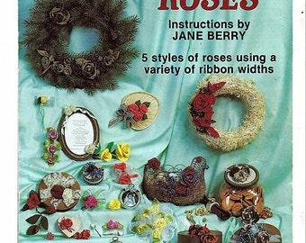Ribbon Roses Craft Pattern Book Pat Depke PD-5503