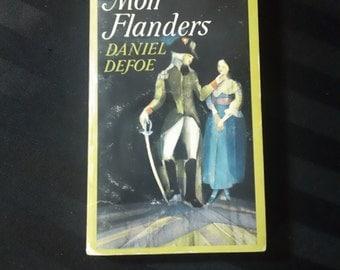 Moll Flanders by Daniel Defoe ~ Vintage 1964 Signet Classic Paperback English Literature Book