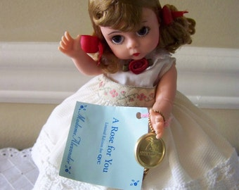 A Rose for you 75th Aniversary Madame Alexander 8 inch doll
