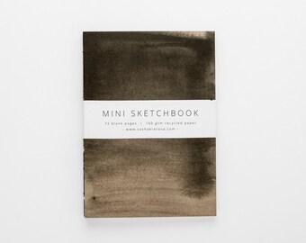 TERRAIN VI mini sketchbook A6