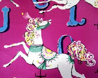 Dear Stella Carousel Horse Fabric