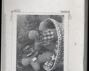 Stuffed Gingerbread Boy Pattern