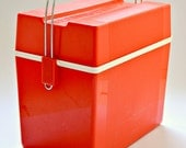 Vintage 1970's Selap Cool Box in Red
