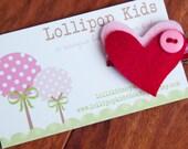 Toddler Hair Clip Baby Hair Clip Infant Hair Clip Kids Hair Clip Heart Hair Clip Hair Clip for Valentines Day