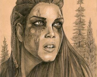 Octavia of Trikru PRINT