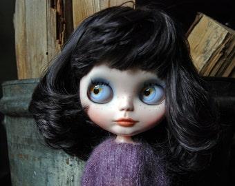 OOAK Custom Neo Blythe Doll - Plum