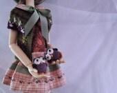 Tiny owl twins - BJD/MSD doll pets - doll toys - doll accessories