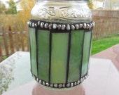 Pickle-jar-turned-art!