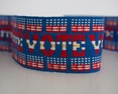 VOTE fabric trim Vintage trim