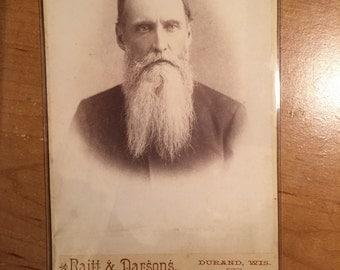 Bearded Man Cabinet Photo