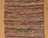 Hand Woven Table Runner - Autumn Woods Cotton 13 x 23