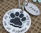 Personalised Gift, Rainbow Bridge Keepsake, Loss of a Pet, Pet Memorial, Death of a Pet, Dog Remembrance, Cat Memorial, Memory Gift