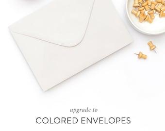 Colored Envelope Upgrade