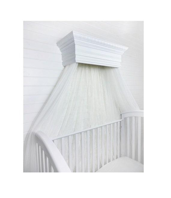 Bed Crown Canopy Crib Crown Nursery Design Wall Decor: Items Similar To Bed Crown Canopy, Crib Crown, Wall