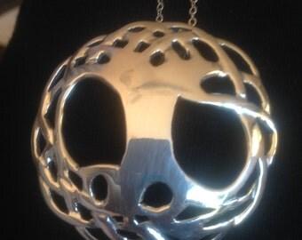 Spiritual Pendant.. Silver Tree of life pendant
