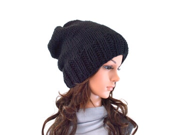 Lightweight Unisex Knit Slouchy Hat Beanie Toque | The Oasby