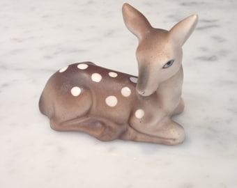 Vintage Deer Fawn China Figurine