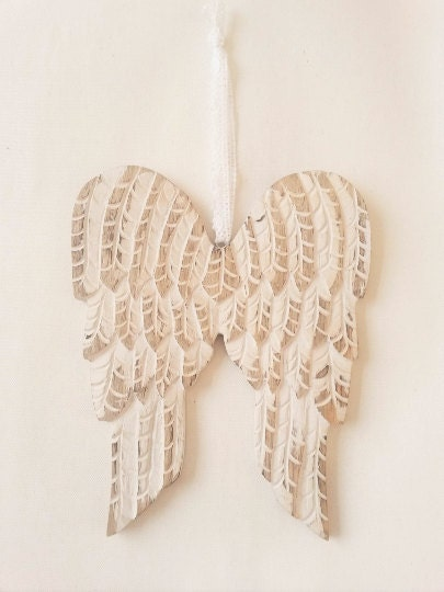 Wooden Angel Wings Wall Decor Wall Hanging Angel Wings