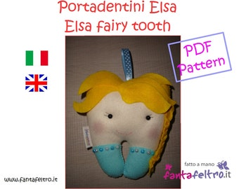 PDF pattern Elsa Fairy Tooth