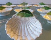 Vintage Made in Italy  Small Shell Dishes (8)