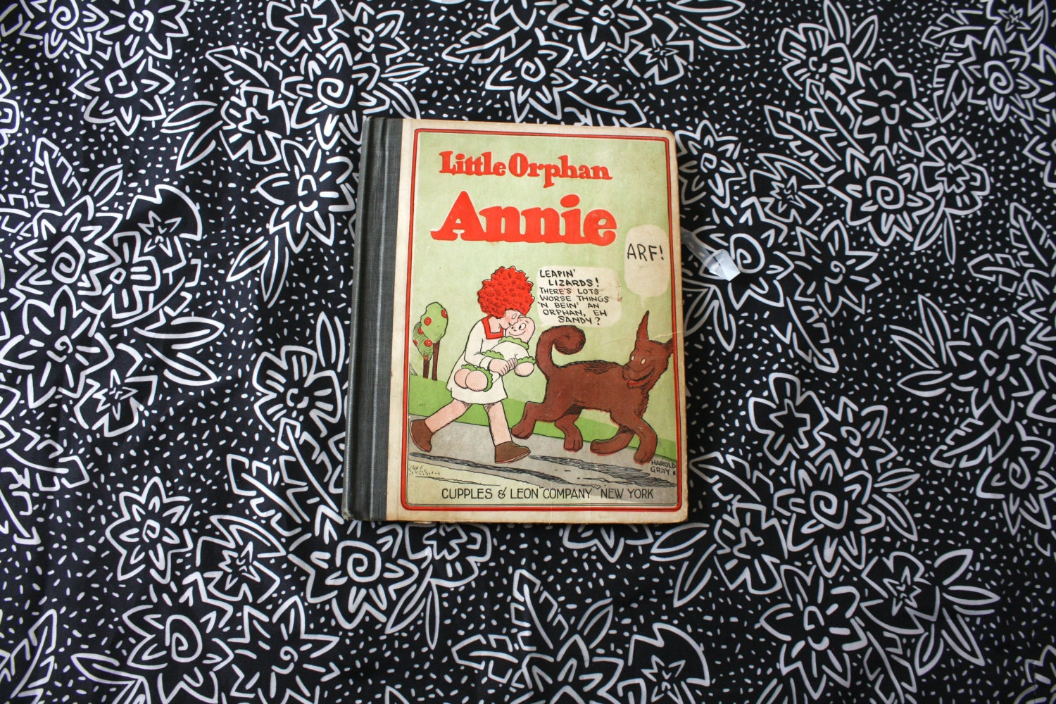 Little Orphan Annie Best Lines: Little Orphan Annie Antique Hardcover Book. 1926 First