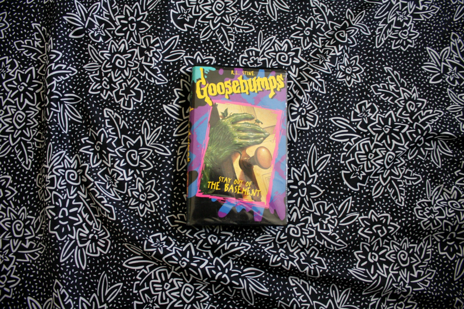 RL Stine Goosebumps Stay Out Of The Basement VHS Tapes Kid - The basement tv show