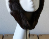 Vintage 1970s Gorgeous Rabbit Fur Hat